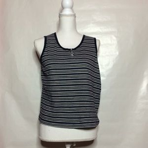 Tops - Striped tank top/crop top N1
